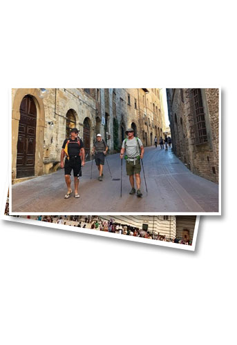 Tuscany small group walking tour